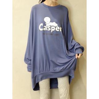 ジエラートピケ CASPER ドレス ルームウェア(ルームウェア)