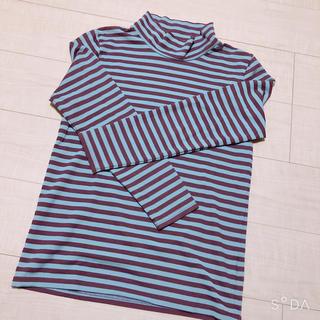 アーバンリサーチ(URBAN RESEARCH)のハイネック長袖ボーダーTシャツ(Tシャツ/カットソー(七分/長袖))