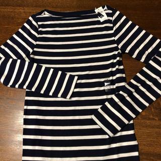 ギャップ(GAP)のボーダーカットソー GAP 長袖 Tシャツ 新品(Tシャツ(長袖/七分))