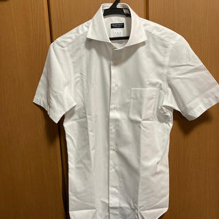 スーツカンパニー(THE SUIT COMPANY)のザ スーツカンパニー 半袖ワイシャツ 白 ノンアイロン S(シャツ)