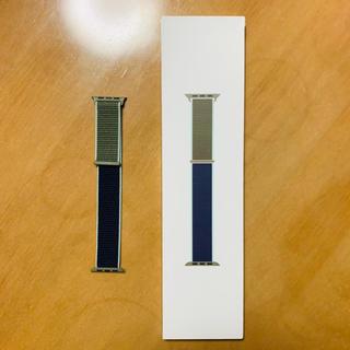 アップル(Apple)の新品 Apple Watch 40mm カーキスポーツループ ナイロン(その他)