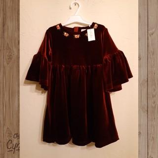 キャスキッドソン(Cath Kidston)のキャス・キッドソン ベルベットドレス サイズ3種あり(ドレス/フォーマル)
