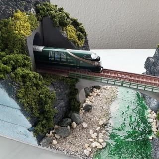 トミー(TOMMY)の鉄道模型ジオラマ 川(鉄道模型)