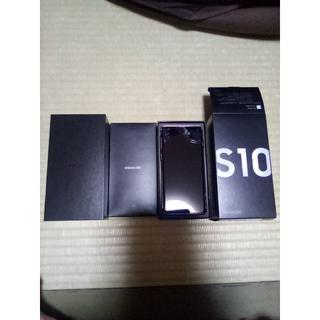 サムスン(SAMSUNG)のGALAXY S10 楽天版 使用期間 1ヶ月未満 美品 PrismWhite(スマートフォン本体)