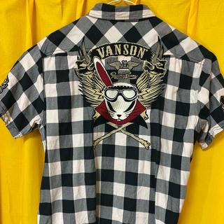 VANSON - vanson チェックシャツ