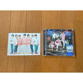 キスマイフットツー(Kis-My-Ft2)のキミとのキセキ 初回盤B  ポストカード付き(アイドルグッズ)