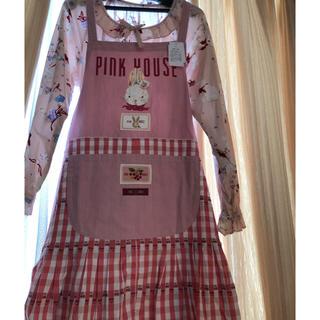 ピンクハウス(PINK HOUSE)のピンクハウス チェリーレーンウサギエプロン(その他)