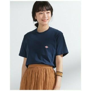 ダントン(DANTON)の【新品】DANTON ダントン Tシャツ☆36サイズ☆ネイビー(Tシャツ(半袖/袖なし))