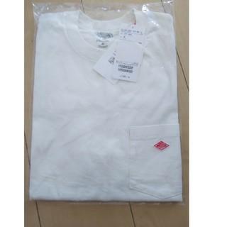 ダントン(DANTON)の【新品】DANTON ダントン クルーネックTシャツ☆36サイズ☆オフホワイト(Tシャツ(半袖/袖なし))