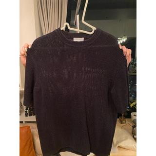 ビューティアンドユースユナイテッドアローズ(BEAUTY&YOUTH UNITED ARROWS)のBEAUTY&YOUTH ニットTシャツ サイズM(Tシャツ(半袖/袖なし))