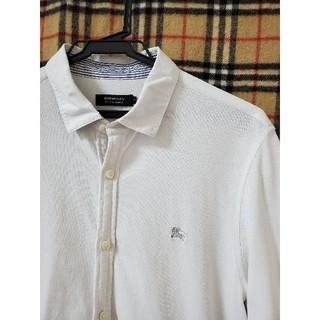BURBERRY BLACK LABEL - 【着回し最高】ホワイトポロシャツ