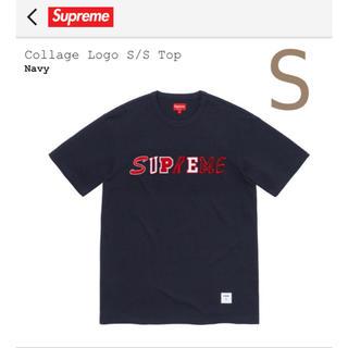 シュプリーム(Supreme)のSupreme Collage Logo S/S Top Navy S(Tシャツ/カットソー(半袖/袖なし))