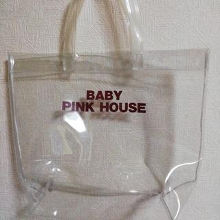 ピンクハウス(PINK HOUSE)のPINK HOUSE ★ 透明バッグ最終(トートバッグ)