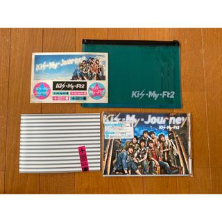 キスマイフットツー(Kis-My-Ft2)のKis-My-Journey 初回生産限定盤A(アイドルグッズ)