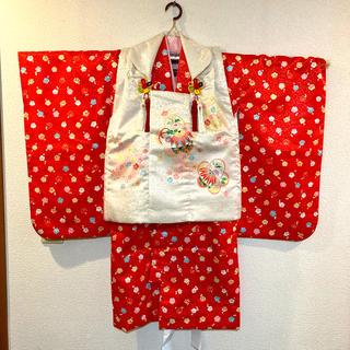 七五三用の着物 3歳用 女児 (和服/着物)