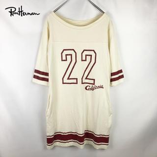 ロンハーマン(Ron Herman)の《RHC Ron Herman》California フットボール ワンピ(ひざ丈ワンピース)