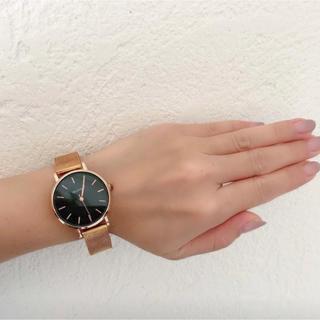 ディーホリック(dholic)の新品DHOLICゴールド腕時計ディーホリック韓国(腕時計)