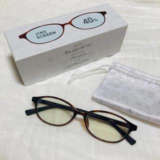 ジンズ(JINS)のJINS PC メガネ  眼鏡 40%カット GINZA掲載 ジンズ ゾフ(サングラス/メガネ)