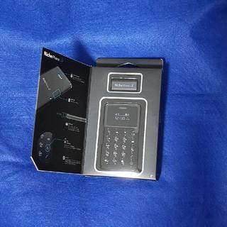 【新品】NichePhone-S ブラック MOB-N1701(携帯電話本体)