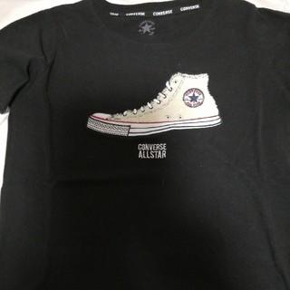 コンバース(CONVERSE)のコンバースハイカットワッペンTシャツ(Tシャツ(半袖/袖なし))