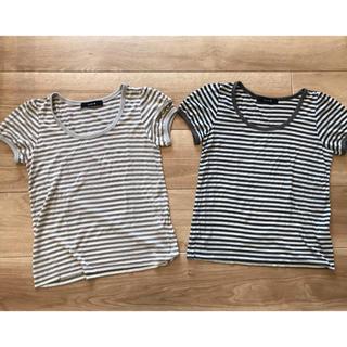 ミスティック(mystic)のミスティック ボーダーTシャツ(Tシャツ(半袖/袖なし))
