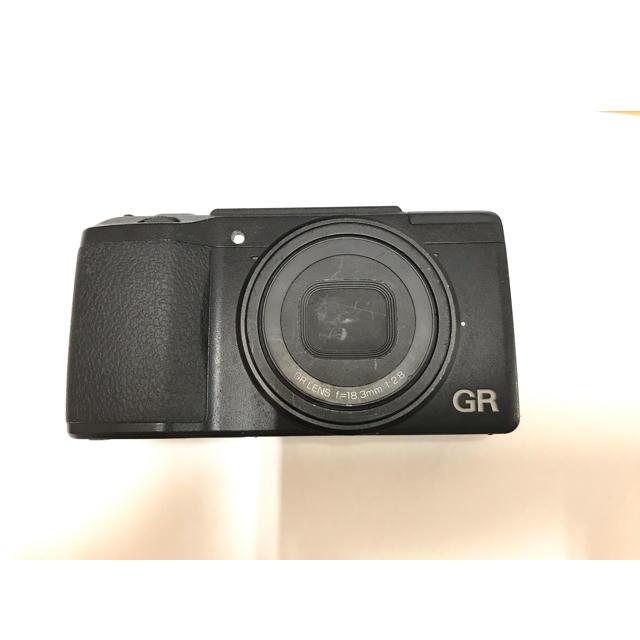 RICOH(リコー)のRICOH リコー GR2 ジャンク 液晶不良 撮影可 スマホ/家電/カメラのカメラ(コンパクトデジタルカメラ)の商品写真