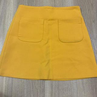 ディーホリック(dholic)の台形スカート デニムスカート タイトスカート 韓国(ミニスカート)
