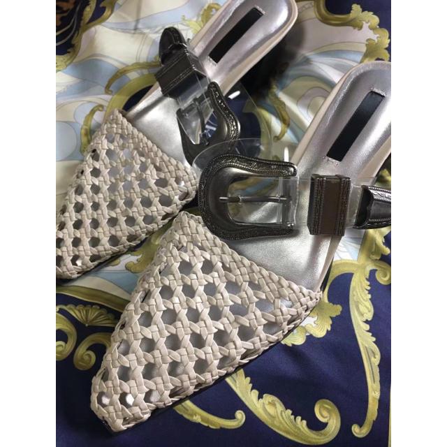 Ameri VINTAGE(アメリヴィンテージ)のameri vitage アメリBRAID UPPER HEEL   レディースの靴/シューズ(サンダル)の商品写真