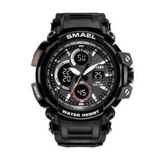 SMAEL 1708 スポーツウォッチ(ブラック)(腕時計(デジタル))