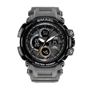 SMAEL 1708 スポーツウォッチ(グレー)(腕時計(デジタル))