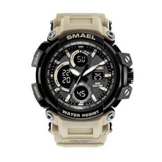 SMAEL 1708 スポーツウォッチ(カーキ)(腕時計(デジタル))