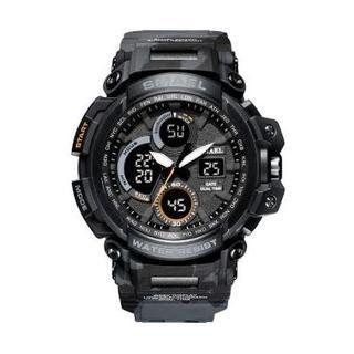 SMAEL 1708MC スポーツウォッチ(迷彩タイプ、グレー)(腕時計(デジタル))