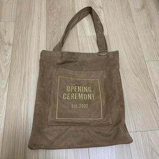 OPENING CEREMONY - opening ceremony ベロア トートバッグ