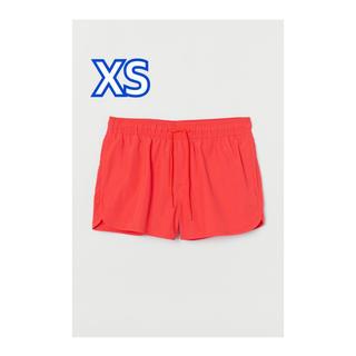 エイチアンドエム(H&M)の大人気 新品 H&M 水着 XSサイズ スイム ショートパンツ メンズ オレンジ(水着)