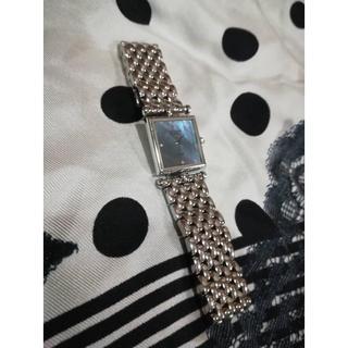 ヴァンクリーフアンドアーペル(Van Cleef & Arpels)のTUKASAさま専用:VCAクラシック カレ ダイヤ シェル (腕時計)