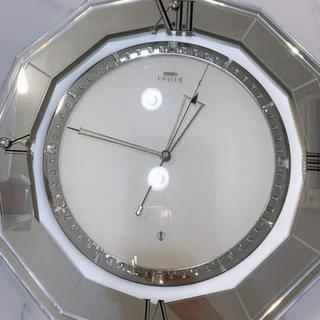 セイコー(SEIKO)のseiko スワロフスキー 掛け時計(掛時計/柱時計)