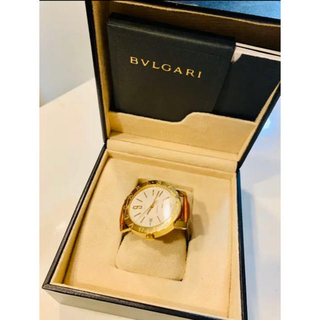 BVLGARI - 廃盤レア品】BVLGARIブルガリ GOLDゴールド 純金腕時計42 Paris
