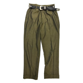 ジョンローレンスサリバン(JOHN LAWRENCE SULLIVAN)のVINTAGE Tailored Slacks  -Jewel Beetle-(スラックス)
