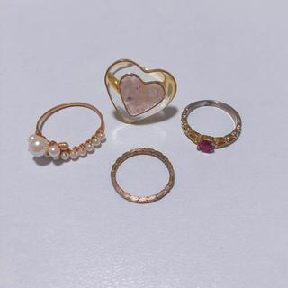 カスタネ(Kastane)のリング セット(リング(指輪))