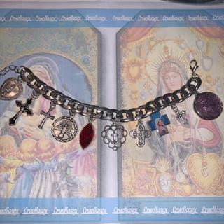 PAMEO POSE - 【cruellasex】holy medal bracelet