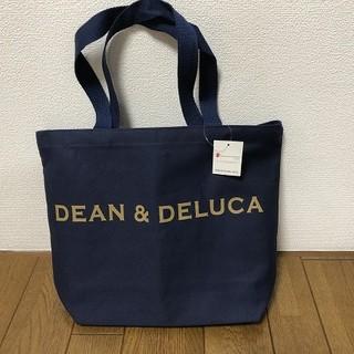 ディーンアンドデルーカ(DEAN & DELUCA)の【DEAN&DELUCA】トートバック★ディーン&デルーカ★ネイビーM(トートバッグ)