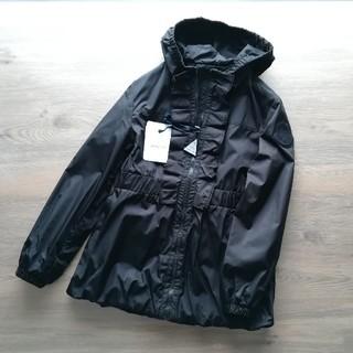 モンクレール(MONCLER)の14A ブラック CINABRE モンクレールキッズ(ジャケット/上着)