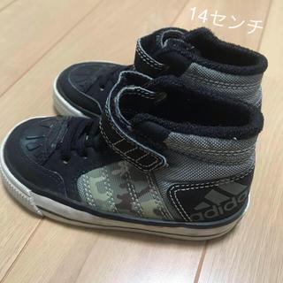 アディダス(adidas)の14センチ adidas ハイカットスニーカー (スニーカー)