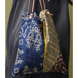 ビューティアンドユースユナイテッドアローズ(BEAUTY&YOUTH UNITED ARROWS)のmanipuri マニプリ スカーフトートバッグ 新品未使用品(トートバッグ)