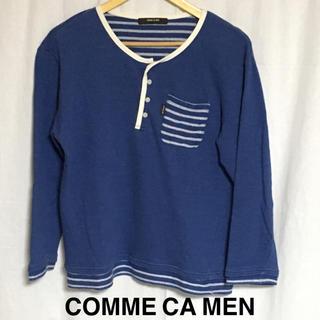 コムサメン(COMME CA MEN)のCOMM CA MEN ヘンリーネックシャツ (Tシャツ/カットソー(七分/長袖))