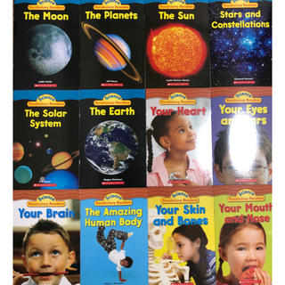 science vocabulary readers 人間と惑星 英語絵本(洋書)