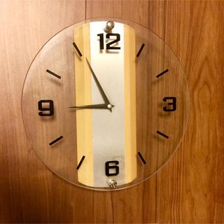 ムジルシリョウヒン(MUJI (無印良品))の【美品❣️】無印の掛時計✨(掛時計/柱時計)