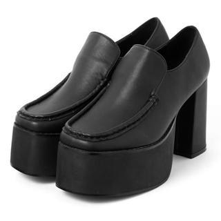 グレイル(GRL)のGRL 厚底ボリュームローファー(ローファー/革靴)