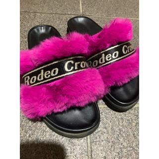 ロデオクラウンズ(RODEO CROWNS)のロデオクラウンズ  ボアサンダル(サンダル)