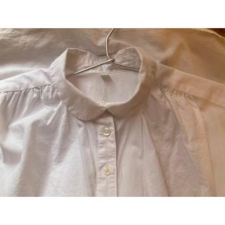 ムジルシリョウヒン(MUJI (無印良品))の丸襟 フレンチスリーブブラウス(シャツ/ブラウス(半袖/袖なし))